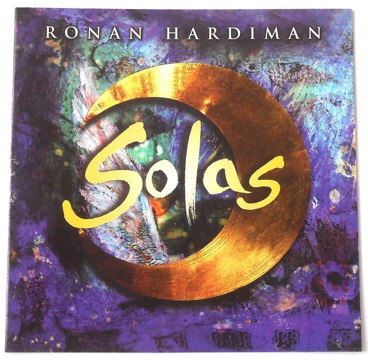 Ronan Hardiman 'Solas' Celtic Electronic Irish New Age Music CD New Lands (175A) #NewAge