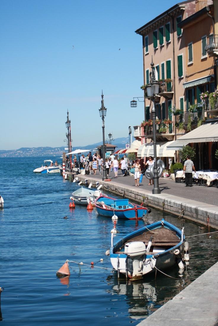 Lazise Lake Garda, ook hier liggen voetstappen van mij....