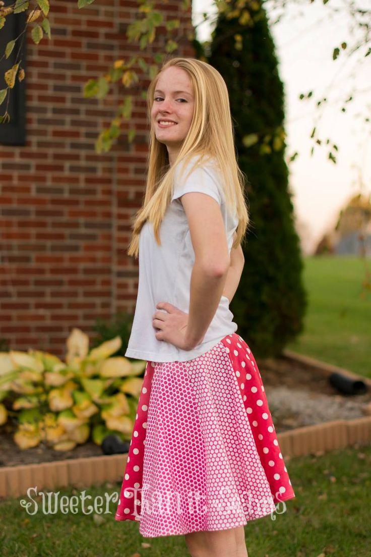 Pattern Emporium Ladies Skater Skirt PDF Pattern