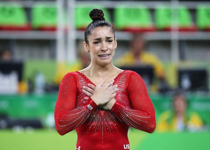 Alexandra Raisman pierde la medalla de oro en Río 2016 - Las mejores fotos de…