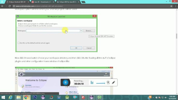 How to Download/Install Eclipse IDE with Android Development Tools