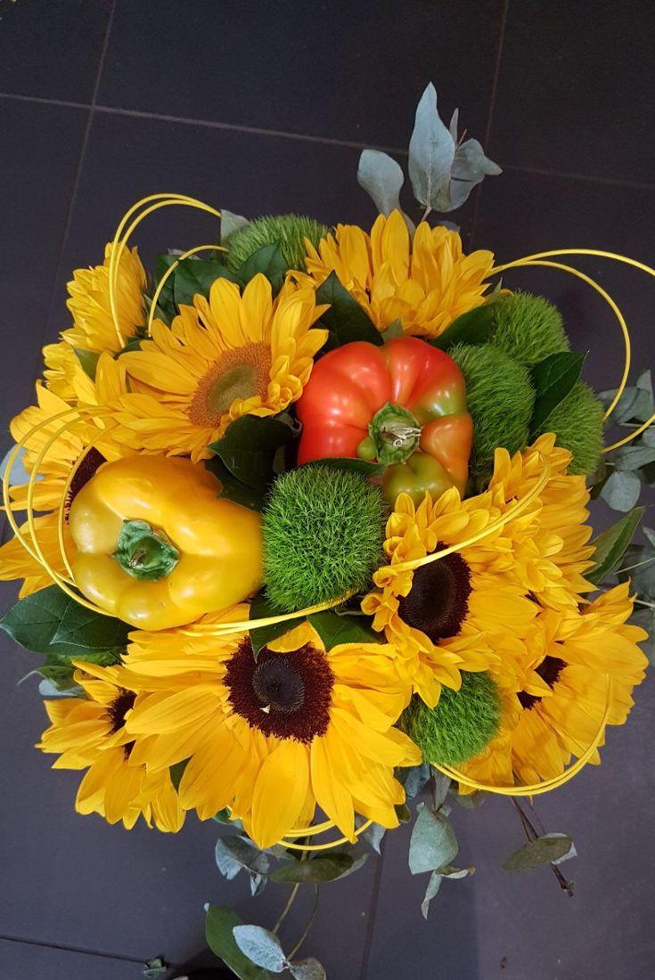 Bouquet di... #peperoni e #girasoli!