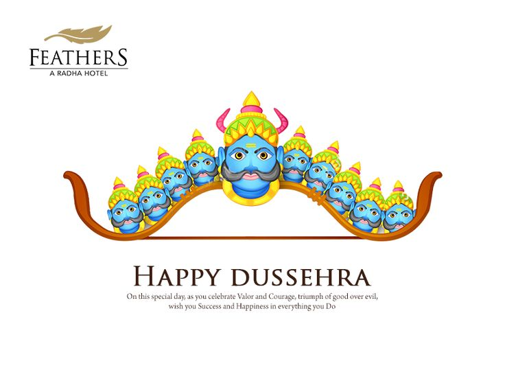 On this special day, as you celebrate Valor and Courage, triumph of good over evil, wish you Success and Happiness in everything you Do.  Wish you all a Happy Dussehra.  #Dussehra #AyudhaPooja #Navratri #FeathersHotelChennai #Feathers #Hotel #Chennai #FiveStarHotel #RadhaHotel #Restaurant #LuxuryHotel