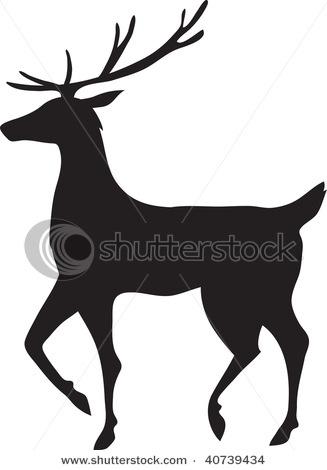 art pallet silhouette. reindeer silhouette · silhouettepallet artsledwood art pallet