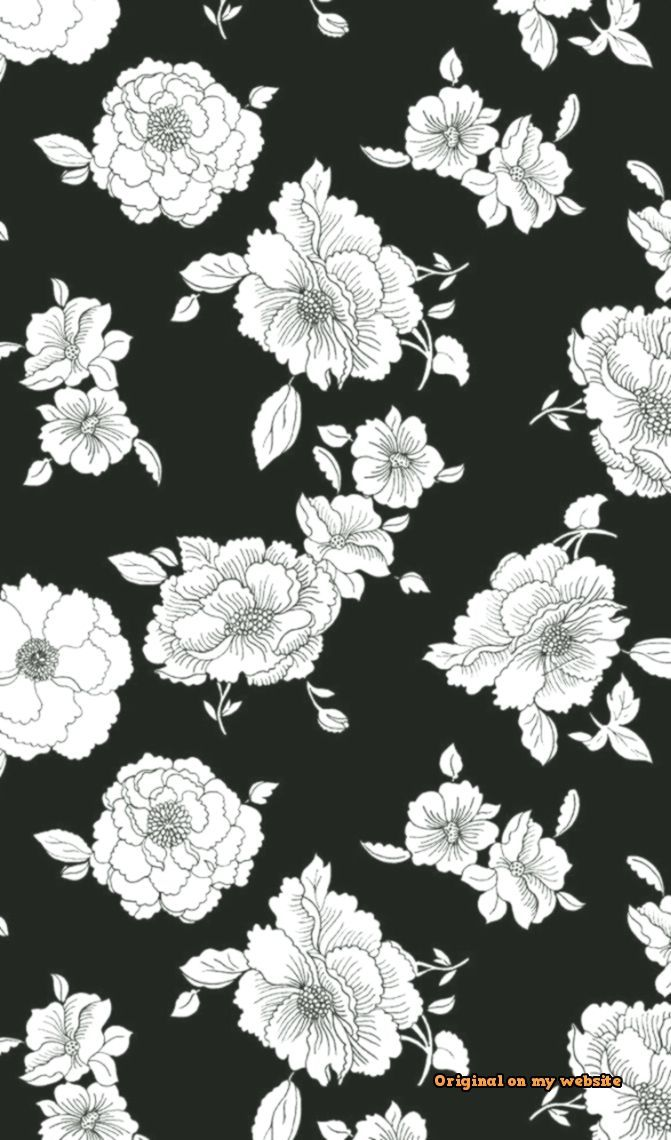 Trends Wallpaper Tumblr Wallpaper Iphone Flower Blackandwhite White Background Wallpaper Black And White Wallpaper Iphone White Wallpaper For Iphone