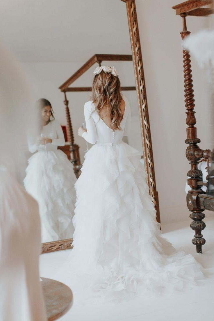 Gorgeous Bride Lydia Elise Millen Wore A Wedding Dress By Halfpenny London Image Wish Weddings Weddingideasdresses