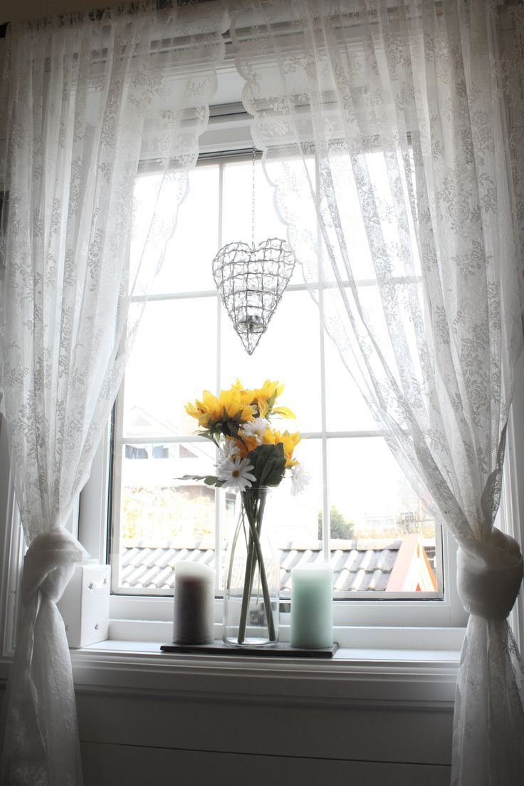 Portrait of Ikea Patterned Curtains