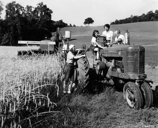 "Women Engaged in ""Tractorette"" Training 