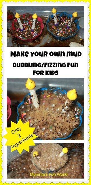 Momma's Fun World: Make your own mud pie science not using mud