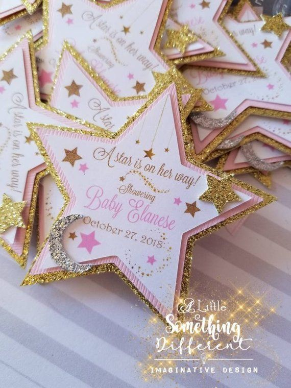 Baby Shower//1st Birthday Twinkle Twinkle Little Star 16 Party Napkins