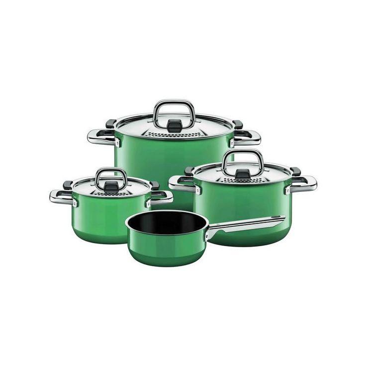 Zestaw garnków Ocean Green - SILIT - DECO Salon #cooking #kitchenaccessories