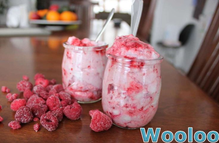 Mousse aux framboises - Wooloo