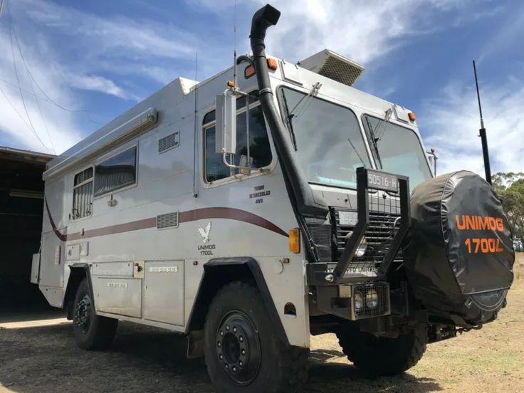 MERCEDES BENZ UNIMOG 1700L DESERT CRUISER MOTORHOME