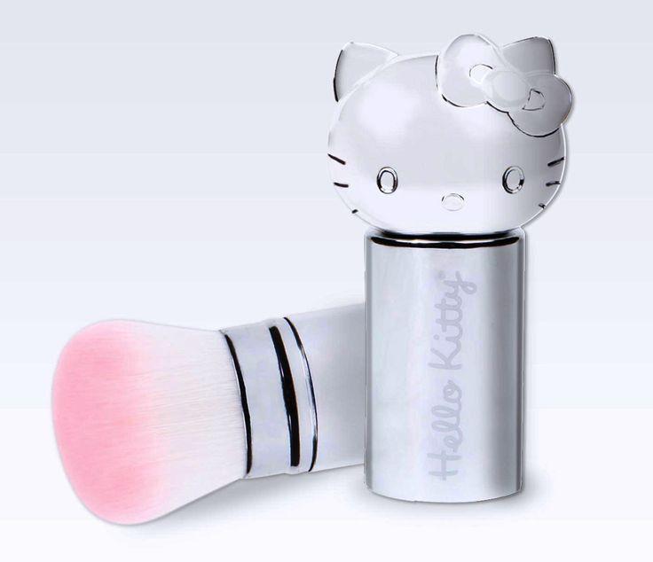 Brocha para maquillar de Hello Kitty