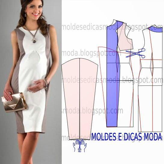 MOLDE DE VESTIDO-163