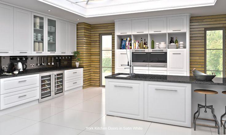 York - Replacement Kitchen Cupboard Door - Custom Made