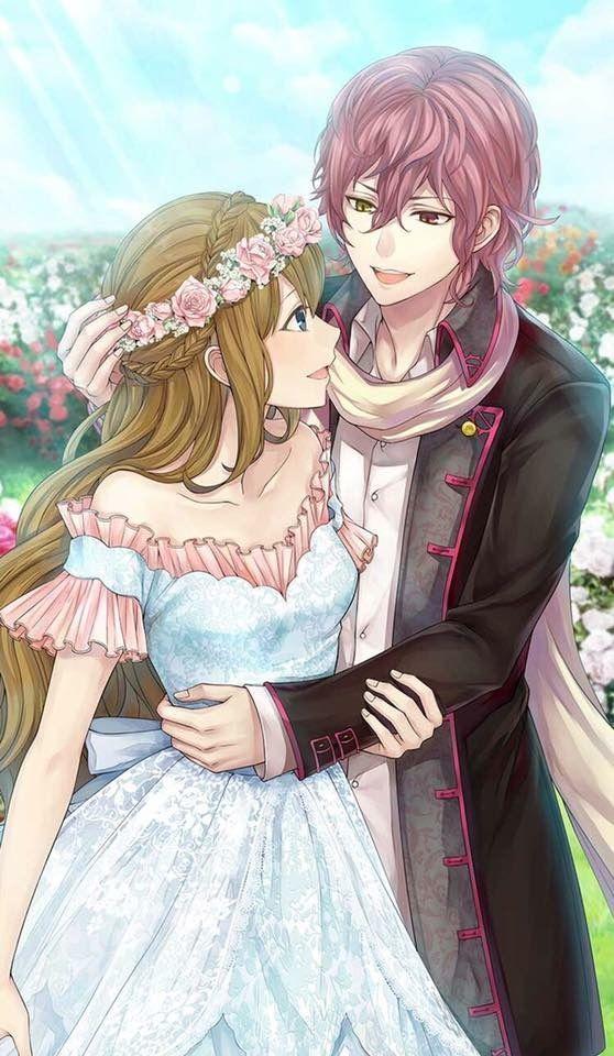 Anime Love Zeichnung