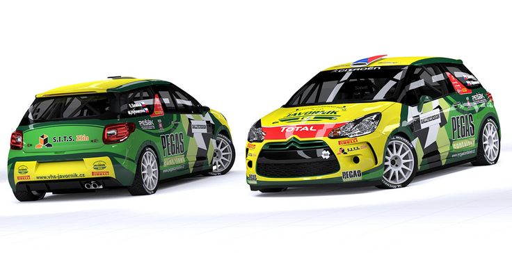 Bens Sport - Egon Smékal (Honda Civic TypeR, Citroen DS3) - design and wrap.