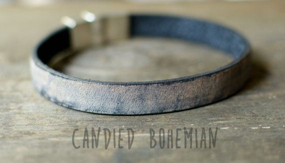 CANDIED BOHEMIAN, Mens jewelry, Mens Leather Bracelet, Mens cuff bracelet, men boho bracelet, bohemian men, mens fashion, mens Style, dope men, swagger, gift for him, gift for men, dopey, mens accessories, shop https://www.etsy.com/listing/399108989/mens-leather-bracelet-leather-bracelets