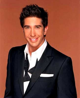 David Schwimmer. I had a soft spot for Ross on Friends:)