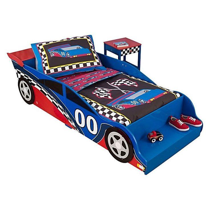 KidKraft Race Car Toddler Bed. Available at Kids Mega Mart Online Shop Australia