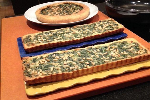 TORTA DI SPINACI/ Quiche aux épinards/ Spinach Quiche