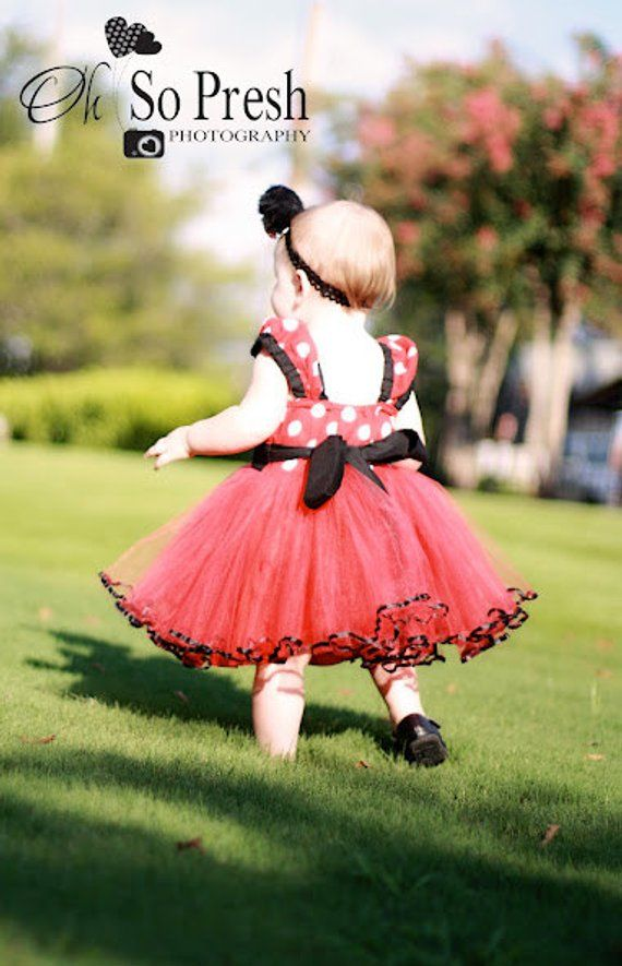 52cbaf149 Red MINNIE MOUSE dress