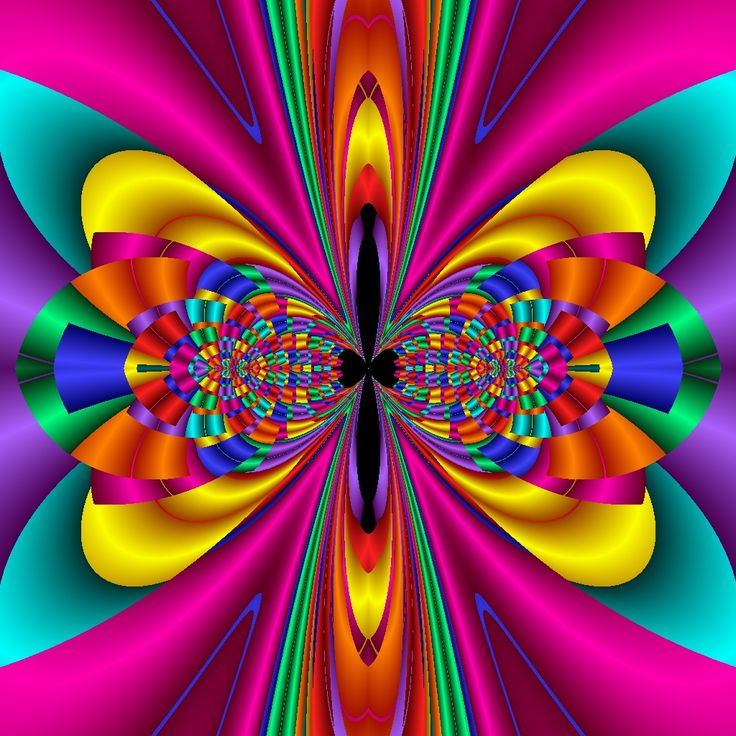 2217 Best Psychedelic ☮ Images On Pinterest Fractal Art