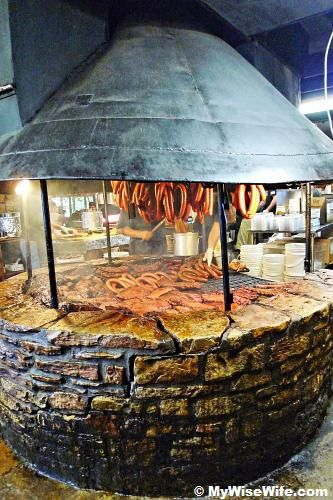 Where the magic happens at the Salt Lick BBQ.