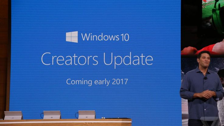 Windows 10 Creators Update expected to arrive in April including the Windows Holographic user interface for VR headsets a 3D version of Microsoft Paint and a blue light reduction feature like F.lux
