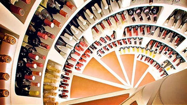 A Spiral Wine Cellar is a pre-cast cylindrical storage system that can hold up to 1900 bottles and can be sunk into the ground in any house, basement or not.