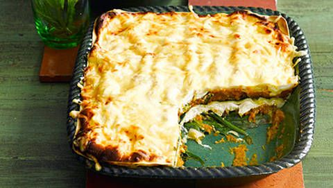Ricotta and spinach lasagne  -for moi!