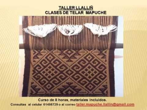 Clases de telar mapuche