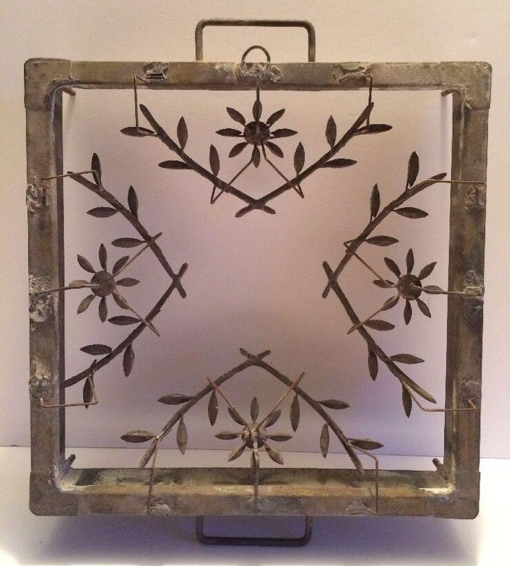 Antique Glass Mold, Mould, Press. Metal. Smith Glass Co, Mt. Pleasant PA  | eBay