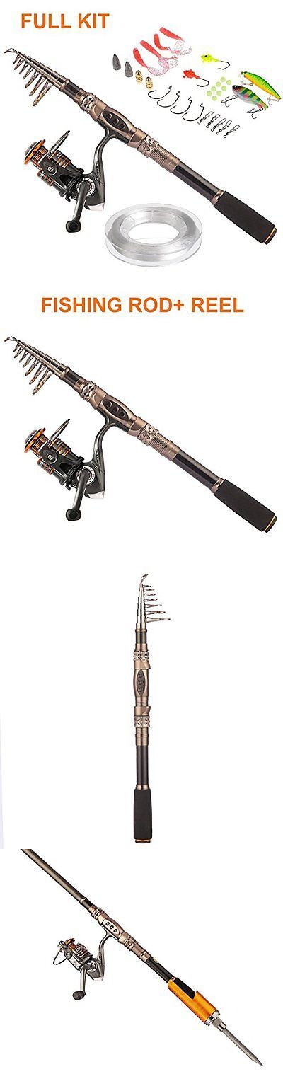 Saltwater Combos 179959: Plusinno® Spin Spinning Rod And Reel Combos Carbon Telescopic Fishing Rod Wit... -> BUY IT NOW ONLY: $72.54 on eBay!