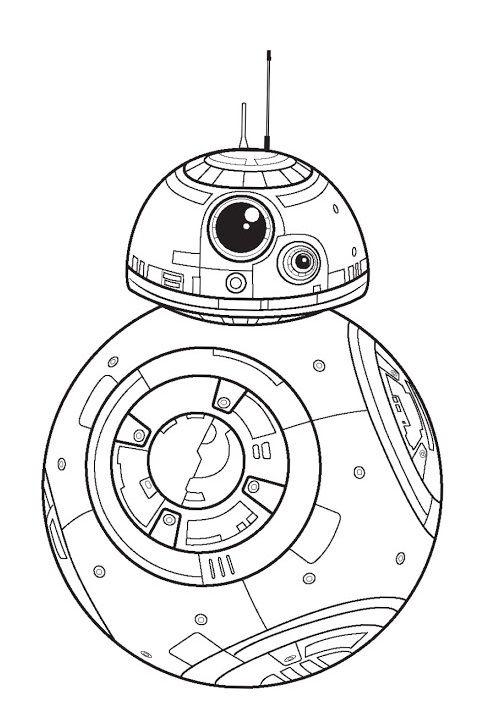Polkadots On Parade Star Wars The Force Awakens Coloring