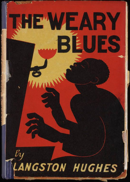 As a teen I learned to love the poetry of Langston Hughes.  Great art here!