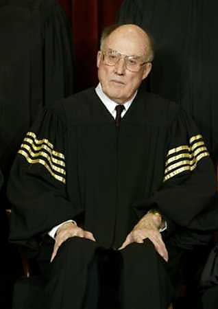William Rehnquist US Supreme Court Justice