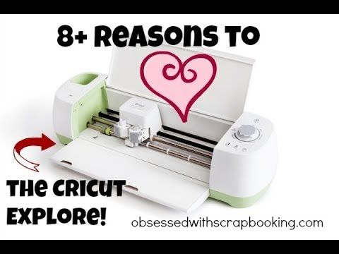 Obsessed with Scrapbooking: [Video]Cricut Explore Design Space Software - 8 Reasons I love it!