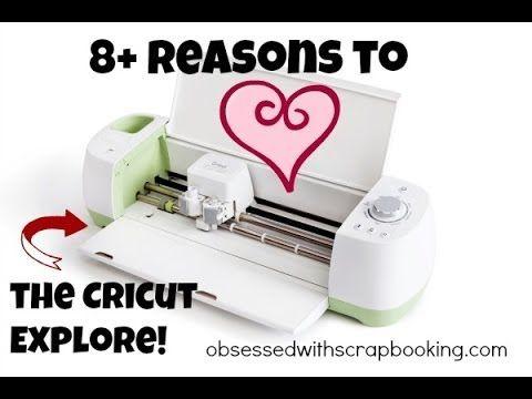 Cricut Design Space Explore-8+Reasons to Love!