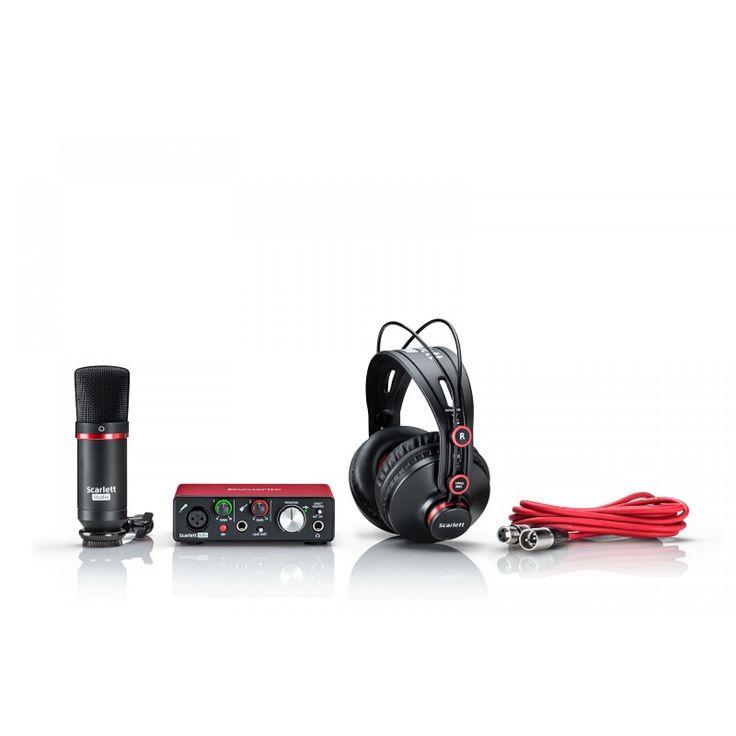 Focusrite Scarlett Solo-2 MK2 Mic & Headphones Generation 2