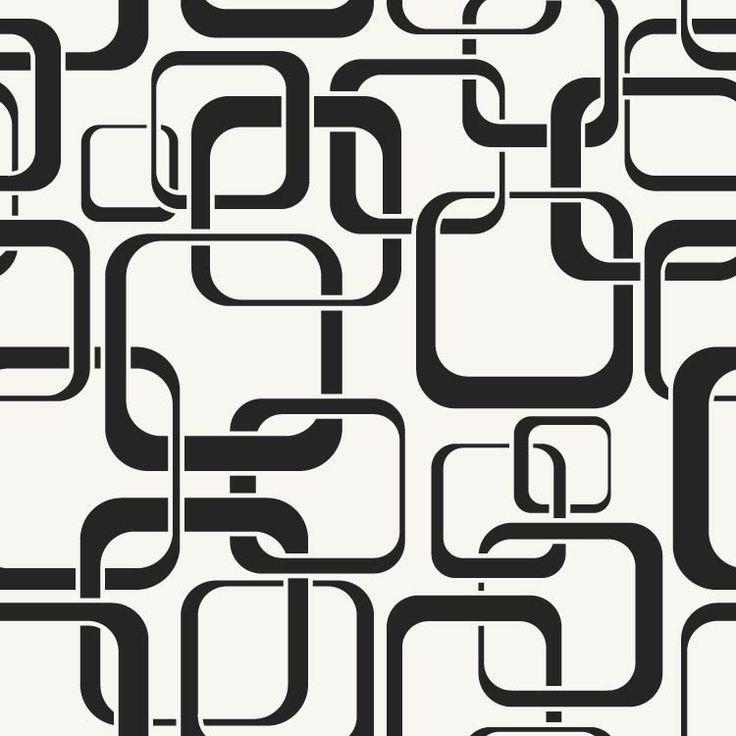 potištěné sklo DesignGlas - motiv čtverce