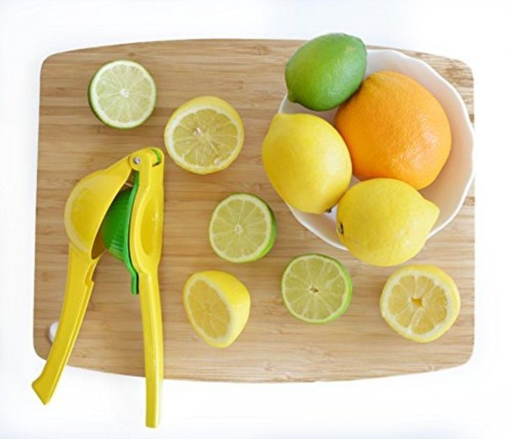 Metal Lemon Lime Fruit Squeezer Hand Manual Citrus Press Juicer Kitchen Bar Tool #ZulayKitchen