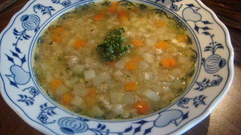 Falešná slepičí polévka - celozrnná - Powered by @ultimaterecipe