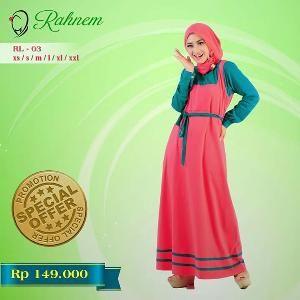 Dress Gamis Rahnem Limited Model RL-03