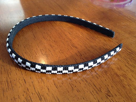 Share Native american beaded rosettes strips headbands for that