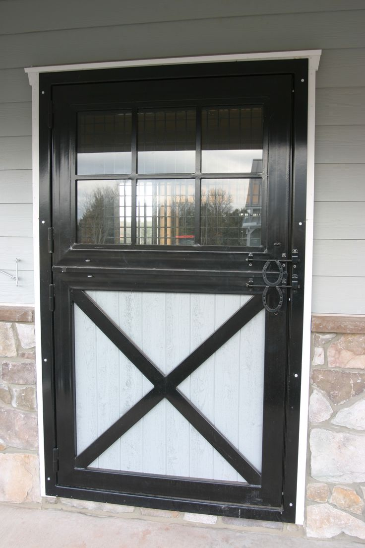 49 best images about outside stall doors on pinterest for Horse stall door plans