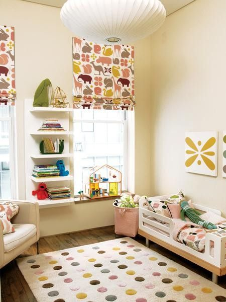 Not my favorite nursery.  But I do love some of the different elements and the color scheme