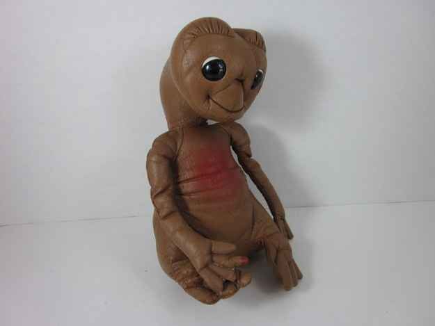 E.T. Vinyl Doll   32 Essential Toys Every '80s Preschooler Had   I loved my ET doll!!!