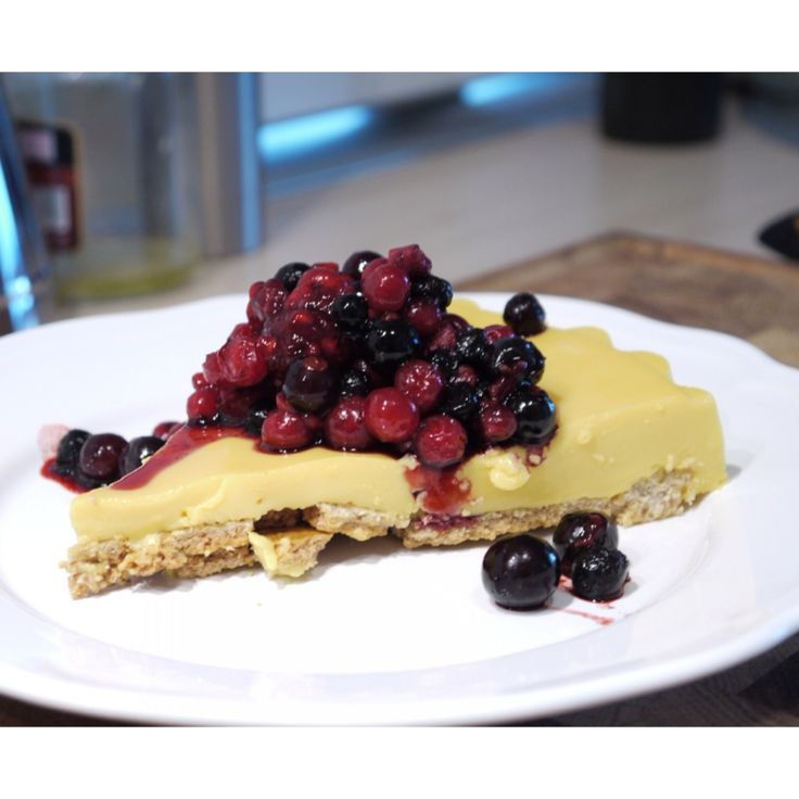 RECETA FITNESS/ Cake crujiente de vainilla con arándanos #postre